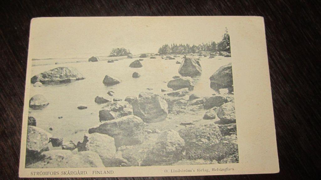 Февраля, старые открытки финляндии