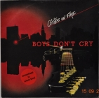 Boys Don't Cry ''Cities On Fire'' 1986 Single RED
