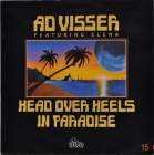 Ad Visser feat. Elena ''Head Over Heels In Paradise'' 1990 Single