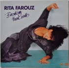 Rita Farouz ''Breakin Those Walls'' 1987 Lp MINT