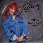 Tiffany ''I Think We're Alone Now'' 1987 Single