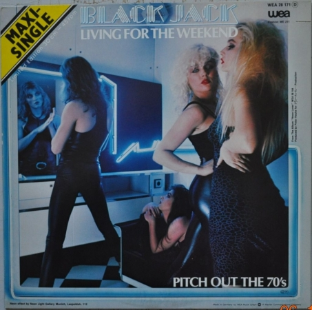 Black Jack ''Living For The Weekend'' 1980 Maxi