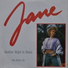 Jane ''Another Night In Rome'' 1988 Single