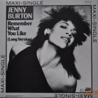 Jenny Burton ''Remember What ...''1983 Maxi-Single