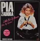 Pia Zadora ''Little Bit...'' 1985 Single Promo Red