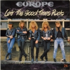 Europe ''Let The Good Times Rock'' 1988 Maxi
