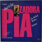 Pia Zadora ''Rock It Out'' 1984 Maxi Single Clear Vinyl