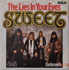 Sweet ''The Lies In Your Eyes'' 1976 Single