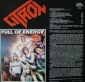 Citron Full of energy Supraphon 1986г металл На виниле