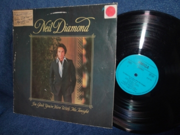 Neil Diamond I`m glad you`re here with me tonight (1979) Amiga 1980г LP