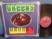 Manfred Krug Greens Krug №3 Amiga 1974г На виниле