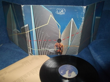 Yes Going for the one UK Atlantic 1977г 1st press LP
