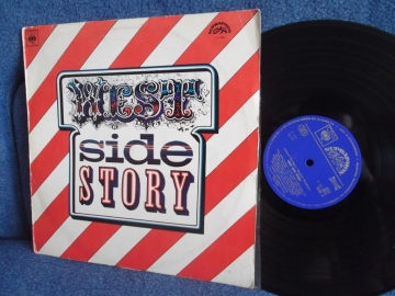 West Side Story OST by Leonard Bernstein, Johnny Green Orchester Supraphon 1970г ОСКАР LP