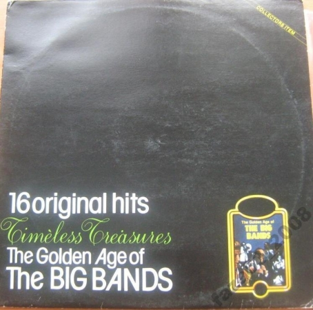 Golden Age of Big Bands 16 original hits C. Basie, B. Goodman, D.Ellington, L.Armstrong LP