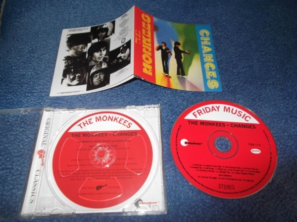 Monkees Changes 1970(2011)г. CD