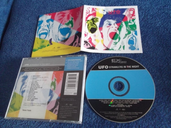 UFO Strangers in the night 1979(1999)г Europe Chrysalis CD