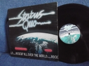 Status Quo Rockin' All Over The World UK Vertigo 1977г 1 st press LP