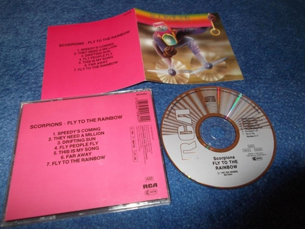 Scorpions Fly to the rainbow 1974г CD