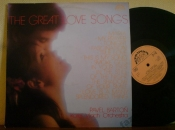 Pavel Barton+Karel Vlach Orch. Great love songs LP