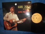 Karel Zich Let me sing some Elvis Presley songs LP