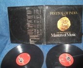 Festival Of India 2LP Masters Of Music India His Master's Voice 1986г LP