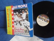 Village People Can`t stop the music Japan YMCA LP