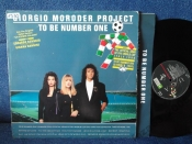 Giorgio Moroder Project To Be Number One 1990г LP