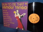 Vaclav Hybs Play to me that famous tango 1980г LP