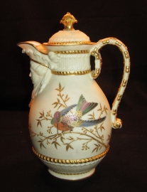 Кофейник,Англия,Royal Worcester,1896г,роспись