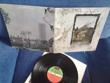 Led Zeppelin	IV	Canada	Atlantic	1971г 1st press LP