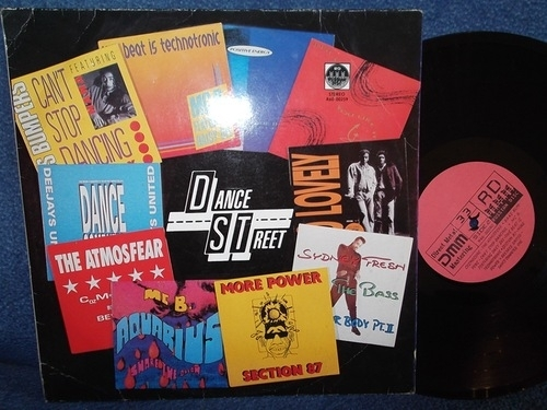 Dance Street	Upside Down, Positive Energy, Two Street, MC B., Sydney Fresh, Bass Bumpers, MC B. Featuring Daisy Dee, Section 87, Deejays United		RD	1990г        LP