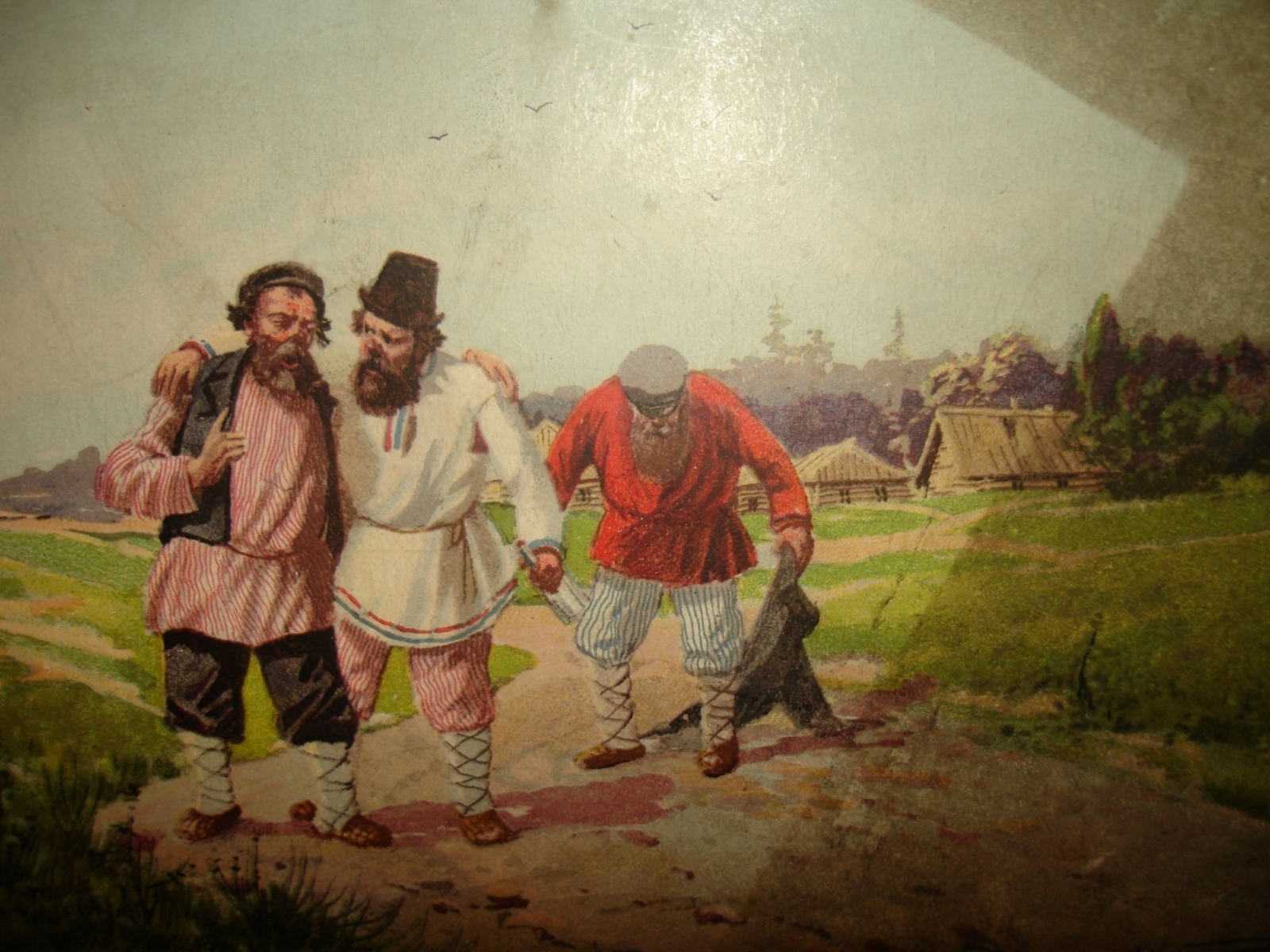 Картинки крестьянина, надписями