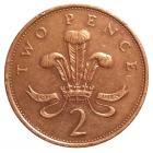 2 пенса Объединенное Королевство Великобритании и Северной Ирландии 0986 год