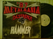 Metalmania`87	Hammer  + Destroyer	Poland	Pronit	1987г.  	   LP