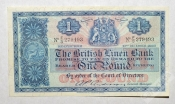 Шотландия 1 фунт 1957 The British Linen Bank aUNC