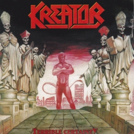Kreator 	Terrible Certainty	1987(1997)г.	CD Media records    CD