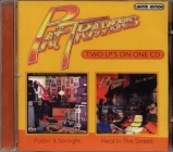 Pat Travers  	Puttin' It Straight / Heat In The Street	1977+1978(2002)г.	Limited Edition   CD