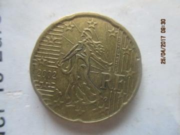 Монета 20 евроцентов 2011 года сколько в советских рублях скільки коштує 5 копійок 1992 року ціна
