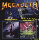 Megadeth 	Countdown To Extinction / No More Mr. Nice Guy / Anarchy In The U.K.	1992+ 88+ 89(1997)г.	Agat Co.  CD