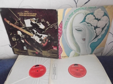 Derek & The Dominos(Eric Clapton)	Layla & Other Assorted Love Songs	UK	Polydor  	1970г  1st press  2LP