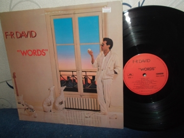 F.R. David	Words	Canada	Carrere	1982г     LP