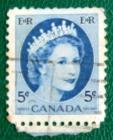 Канада 0954 ферзь клятва Божия II Sc#341 Used