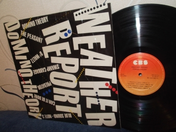 Weather Report	Domino theory	India	CBS	1984г    LP