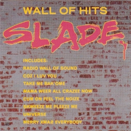 Slade	Wall of hits	1991г	Made in France by PMDC	Polydor	#511612-2,  1st press, no IFPI, AAD CD