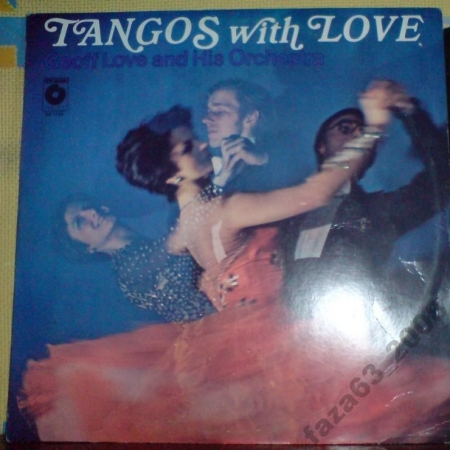 Geoff Love and his Orchestra Tangos with love Poland Muza 1978г LP
