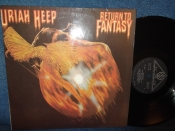 Uriah Heep	Return to fantasy(1975г)	 	SNC      LP