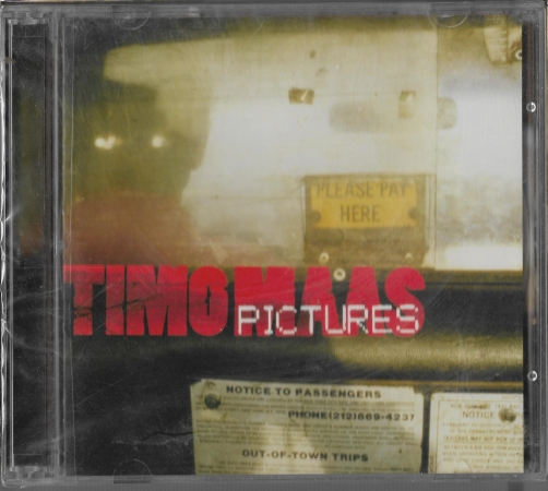 "Timo Maas ""Pictures"" 2005 CD SEALED"