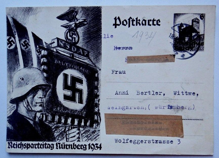Открытки рейха, открытка люблю