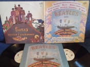 Beatles          2LP	Magical mystery tour (1967г) + Yelow submarine(1969г).	 	Антроп	1992г	 LP