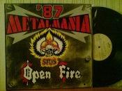 Metalmania`87	Open Fire + STOS 	Poland	Pronit	1987г            LP